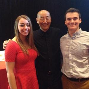 And, of course, Philip Chiang, my plus one and I after the 8-course meal!