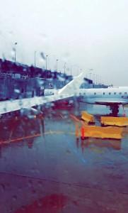 CCG rainy plane