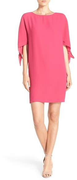vince-camuto-cold-shoulder-shift-dress