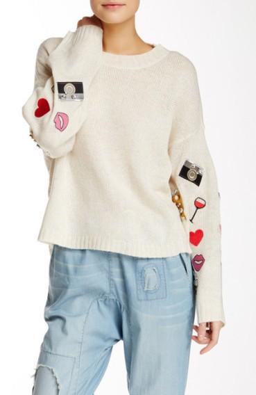 wildfox-embellished-sweater